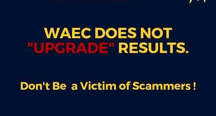 WAEC Results upgrade