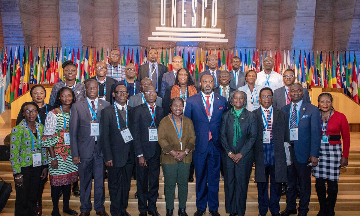 UCC Team Participants in 40TH Session of the General Conference of UNESCO