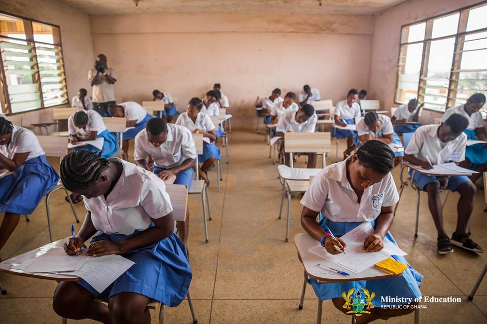 GHS75.4 million WASSCE exam fees absorped by gov't