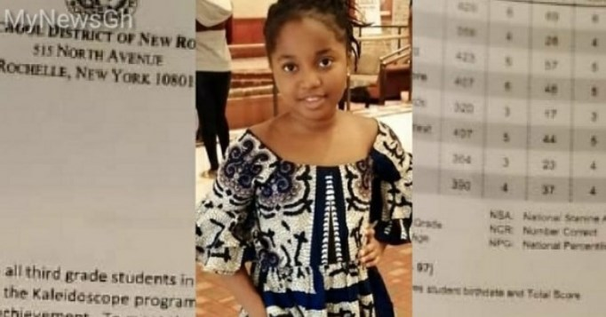 8-year-old Ghanaian pupil Tops in New Rochelle Examinations