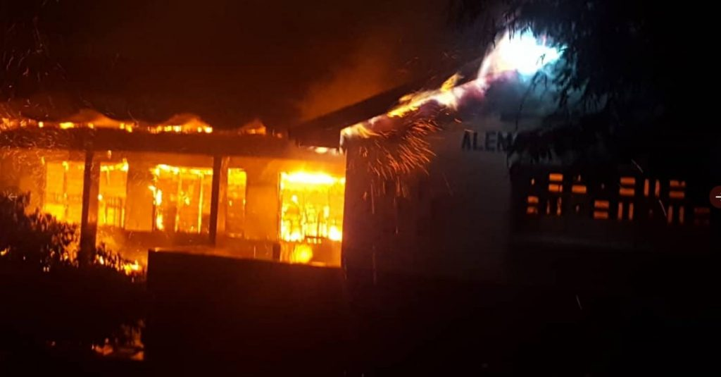 Accra Academy fire outbreak