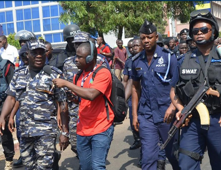 Demo looms against police