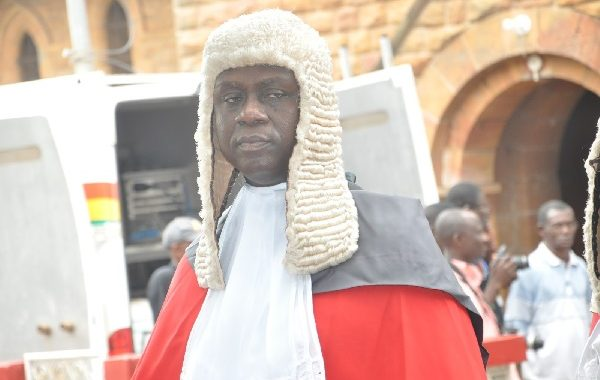 Anin Yeboah sworn-in as 14th Chief Justice of Ghana
