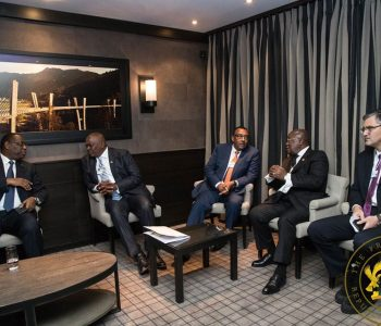 Akufo-Addo Participates in the World Economic Forum Annual Meetings