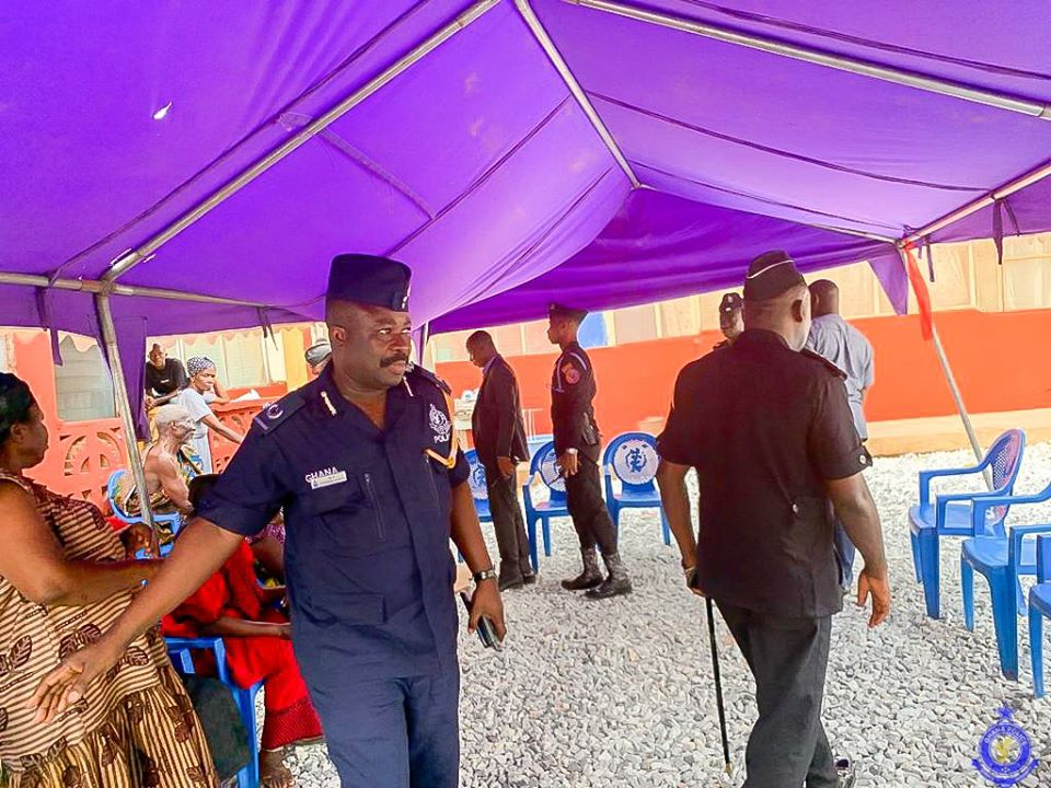IGP Commiserates with Family Of Police Woman Who Died in Gas Explosion With 3 Children