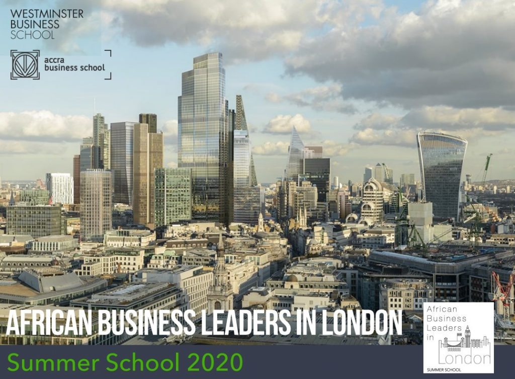 African Business Leaders In London - Summer School 2020