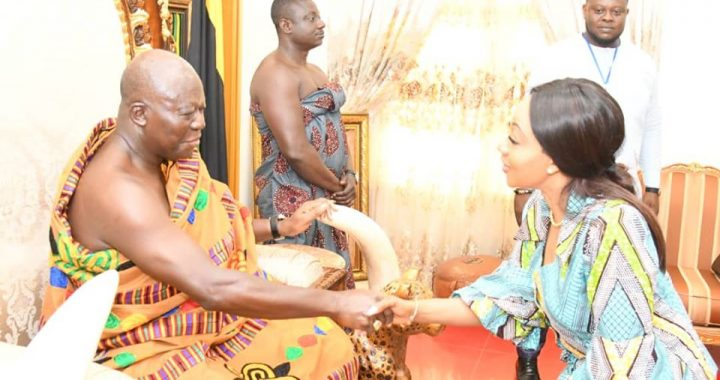 EC Pays Courtesy Call on Otumfuo
