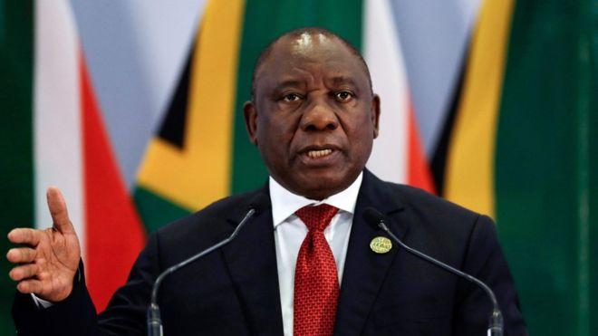 South African nation-wide lockdown