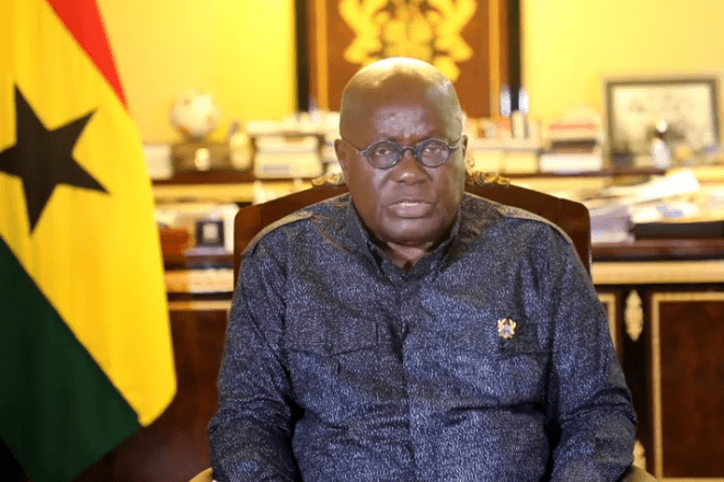 Ghana extends border shutdown