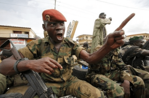 soldier shot and killed Ashaiman Guy
