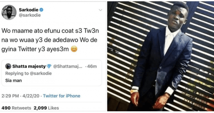sarkodies-savage-reply-to-a-shatta-fan-who-insulted-him