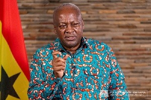 You'll 'vomit' all Agyapa money in my 2nd coming – Mahama tells beneficiaries