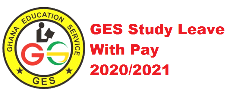 GES Study Leave With Pay 2020/2021
