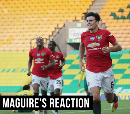 Man-of-the-Match Harry Maguire