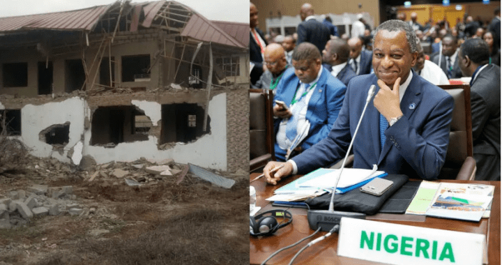 BREAKING News: Nigeria's Lawmakers 'vote' to retaliate by demolishing Ghana's Mission inside Abuja