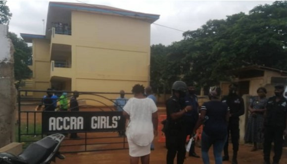 Accra Girls teacher, spouse and 6 students test positive for COVID-19