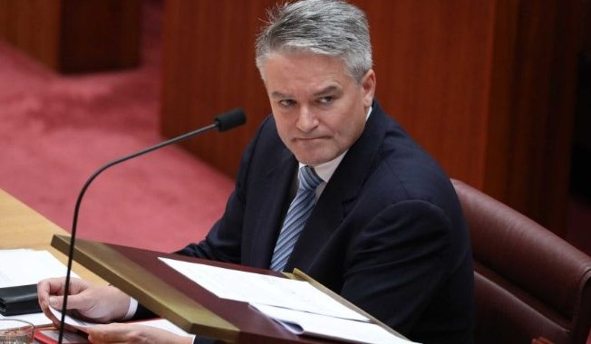 Finance Minister Mathias Cormann