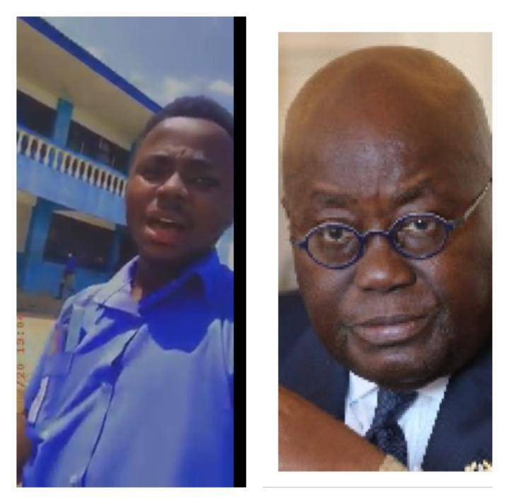 Chaos and vandalism by Free SHS students