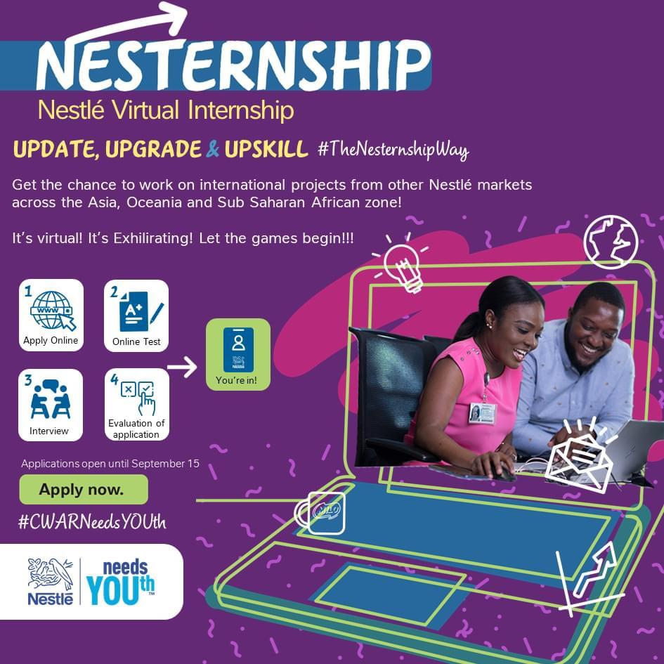 Nestlé Virtual Internship Program