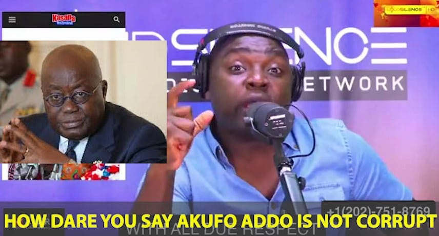 How dare you say Nana Addo is not corrupt -Kelvin Taylor