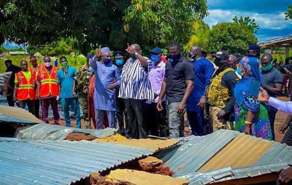 I Share In Your Loss - Bawumia Consoles North East Flood Victims