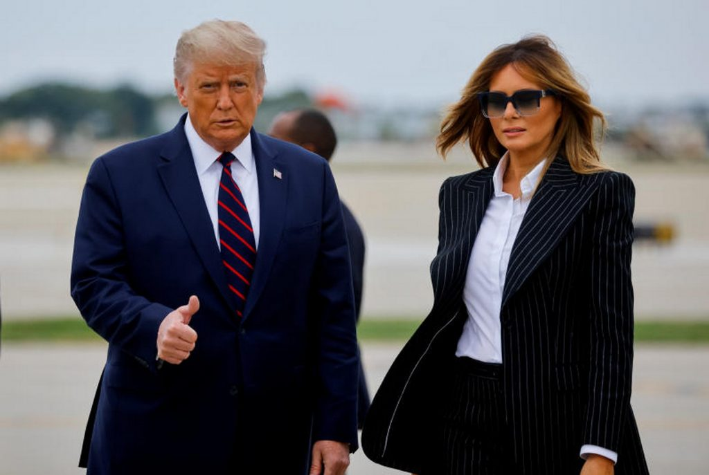 Whitehouse: Trump and Wife Test Positive for Covid-19