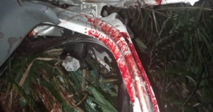 At least one person has died with seven others injured in a fatal accident on the Nkawkaw stretch of the Accra-Kumasi highway of the Eastern Region.