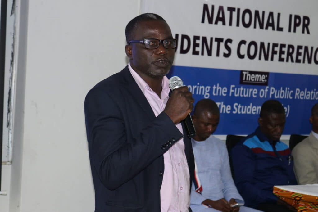 """It is with deep sorrow that the university community announces the death of Dr. John Bosco Kuuka Damnyag, Dean of the Faculty of Information Technology and Communication Studies (FITCS). According to the family, the astute Senior Lecturer passed away on Tuesday, October 27 after a short illness. """"Dr. Bosco"""", as he was fondly called, joined the University of Professional Studies, Accra (then Institute of Professional Studies – IPS) in 2005 as a lecturer. Prior to that, he lectured at Regent University College and Koforidua Polytechnic (now Koforidua Technical University). Within a year of his employment, he was appointed the Head of the Mathematics Unit of IPS, a position he held until 2009 when he became the Research Coordinator of the institution. In 2013, when the institution had attained university status, he was appointed the Coordinator of the Evening School. He was later promoted to a Senior Lecturer in 2016 and Head of the Department of Information Technology Studies. Dr. John Bosco Damnyag (in August 2019) lecturing SHS students during the Vice-Chancellor's Free Vacation Class Program for second cycle students in the community Due to his hard working nature and his commitment to his duties, Dr. Damnyag was promoted to the position of Vice Dean at the same faculty when the position became vacant in April 2018. After a year of strong leadership and dedicated service, he was appointed the substantive Dean of the Faculty in February 2019. He held that position until his passing. Dr. Damnyag served on several boards and committees of the university including the Academic Board, the Executive Committee and the Appointments and Promotions Board. Dr. Damnyag was born on 3rd February, 1972. He is a native of Fielmuo in the Upper West Region of Ghana. His vast professional expertise included data analysis, training in information management, actuarial analysis and pension fund management. The late Dr. John Bosco receiving an 'Award of Gratitude' for his dedicated serv"""