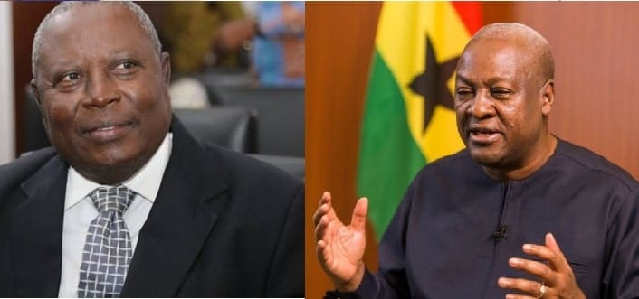 John Mahama Causes Traffic on Tweeter After Martin Amidu Resigns