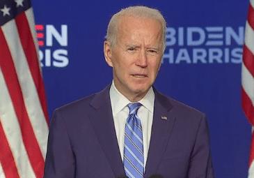 No one is going to take our democracy from us- Joe Biden