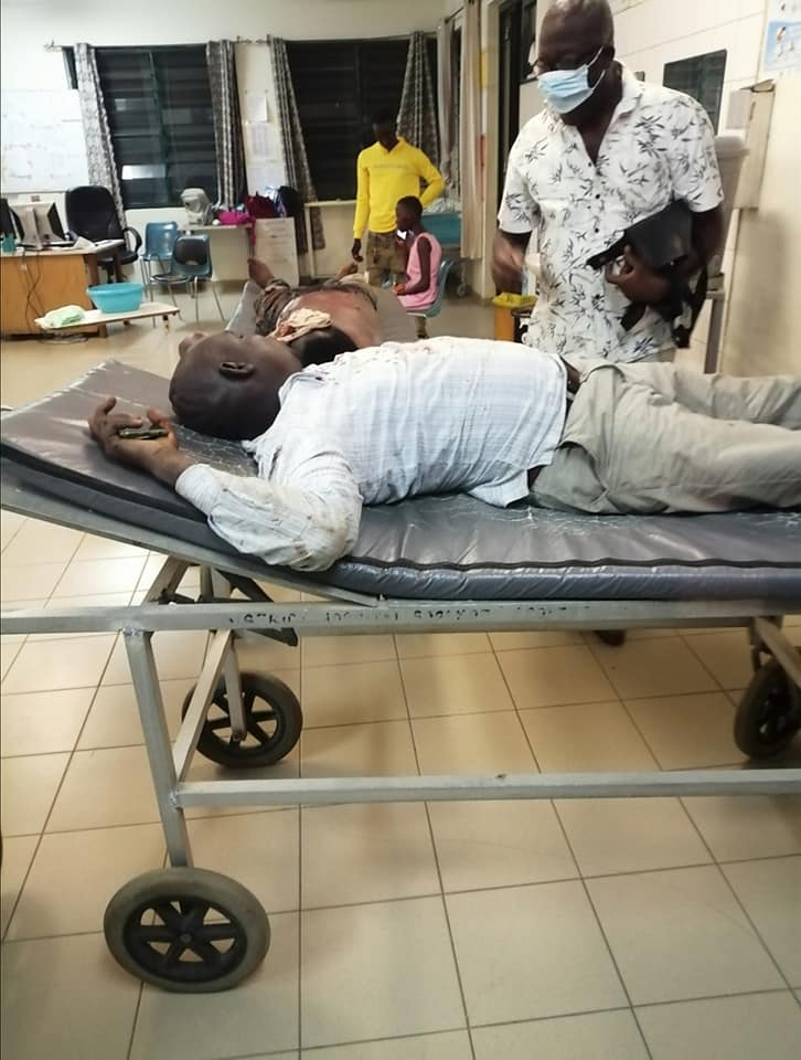 Human Rights Reporters Ghana Boss Survives Near-Fatal Road Carnage